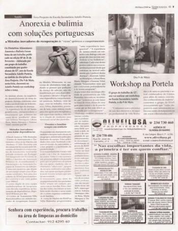 Anorexia e bulimia com soluções portuguesas