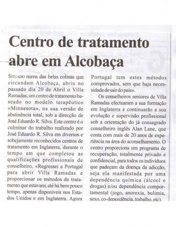 Centro de tratamento abre em Alcobaça