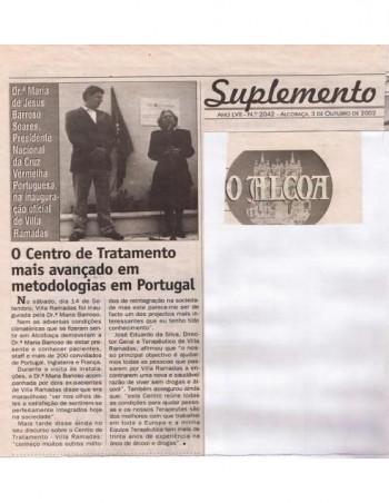 O Centro de Tratamento mais avançado em metodologias em Portugal